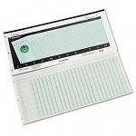 "Accounting Pad 25 Six-Unit Columns 11"" x 24-14"" 50-Sheet Pad (WLJG7225A)"