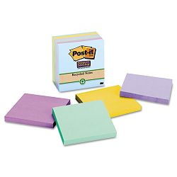 "Super Sticky Notes 3"" x 3"" Five Tropic Breeze Colors 5 90-Sheet PadsPack (MMM6545SST)"