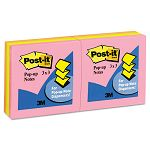 "Pop-Up Note Refill 3"" x 3"" Five Neon Colors 6 100-Sheet PadsPack (MMMR330AN)"