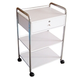Karin Facial Cart with 3 Shelves 1 Drawer (PL912)