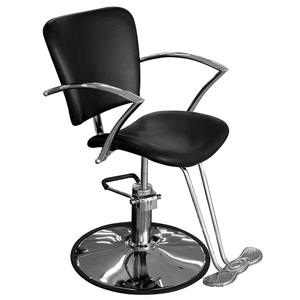 Marta Styling Chair with Hydraulic Base - Round or Star (SC303)