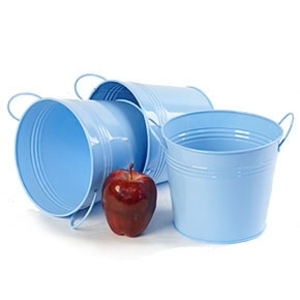 "6.5"" Pail with Side Handles Blue (BY08-1LB)"