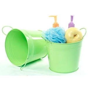 "6.5"" Pail with Side Handles Lime (BY08-1LG)"