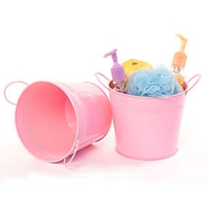 "6.5"" Pail with Side Handles Pink (BY08-1LP)"