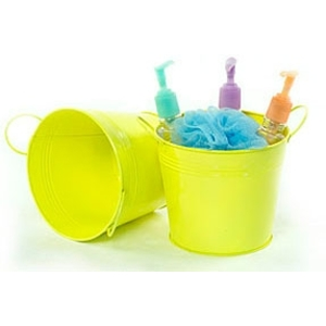 "6.5"" Pail with Side Handles Yellow (BY08-1Y)"