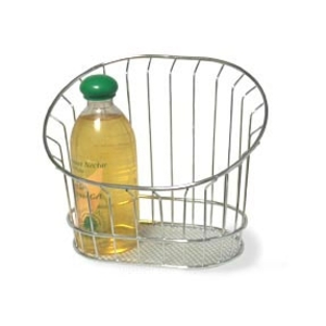 Chrome Wire Wall Basket (WY14-1)
