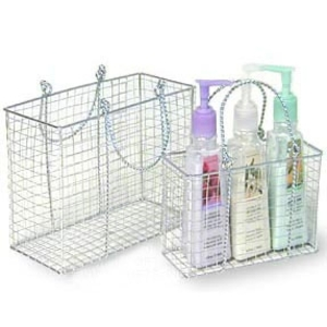 Chrome Nested Tote Set Basket (SY03-2)
