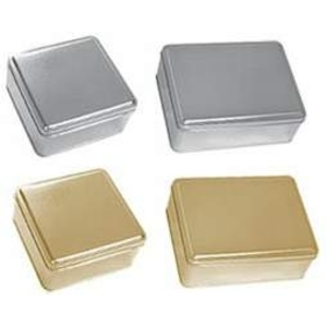 2 Piece Metallic Tins ()