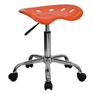 Tractor Stool Orange Red by BIGA (LF-214A-ORANGERED-GG)