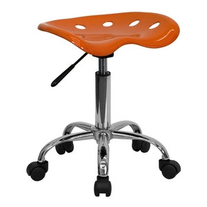 Tractor Stool Orange Yellow by BIGA (LF-214A-ORANGEYELLOW-GG)