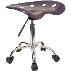 Tractor Stool Violet by BIGA (LF-214A-VIOLET-GG)