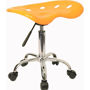 Tractor Stool Yellow by BIGA (LF-214A-YELLOW-GG)