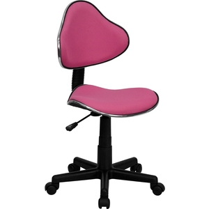 Euro Style Ergonomic Technician Chair Pink by BIGA (BT-699-PINK-GG)