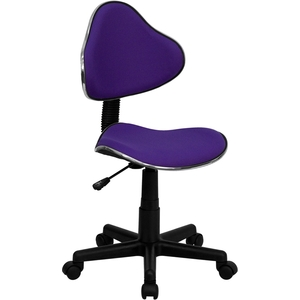 Euro Style Ergonomic Technician Chair Purple by BIGA (BT-699-PURPLE-GG)