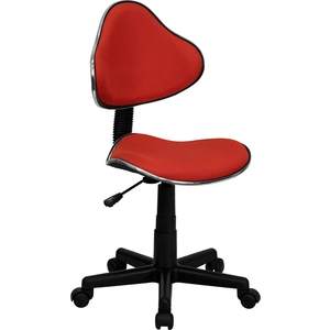 Euro Style Ergonomic Technician Chair Red by BIGA (BT-699-RED-GG)