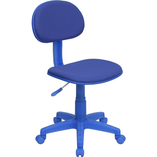 Ergonomic Technician Chair Blue by BIGA (BT-698-BLUE-GG)