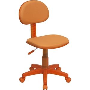 Ergonomic Technician Chair Orange by BIGA (BT-698-ORANGE-GG)