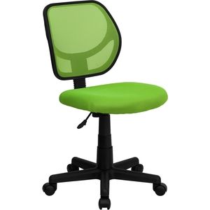 Mid-Back Green Mesh SpaSalon Technician Chair by BIGA (WA-3074-GN-GG)