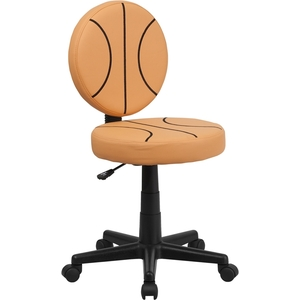 Basketball Themed SpaSalon Technician Chair by BIGA (BT-6178-BASKET-GG)
