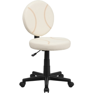 Baseball Themed SpaSalon Technician Chair by BIGA (BT-6179-BASE-GG)