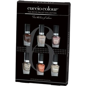 Cuccio Colour Nail Lacquer - Cafe Cuccio Retail Mini Kit (663438)