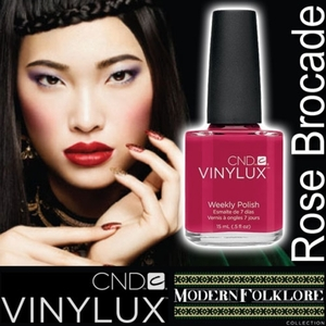 CND VINYLUX 2014 Modern Folklore Collection - Rose Brocade / 0.5 oz.