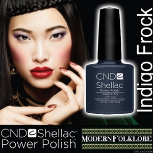 CND Shellac Indigo Frock 0.25 oz. - 7.3 mL - The 14 Day Manicure is Here!