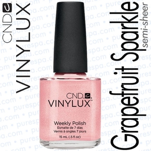 CND VINYLUX Grapefruit Sparkle 0.5 oz. (800356)