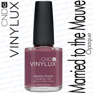 CND VINYLUX Married to the Mauve 0.5 oz. (800366)