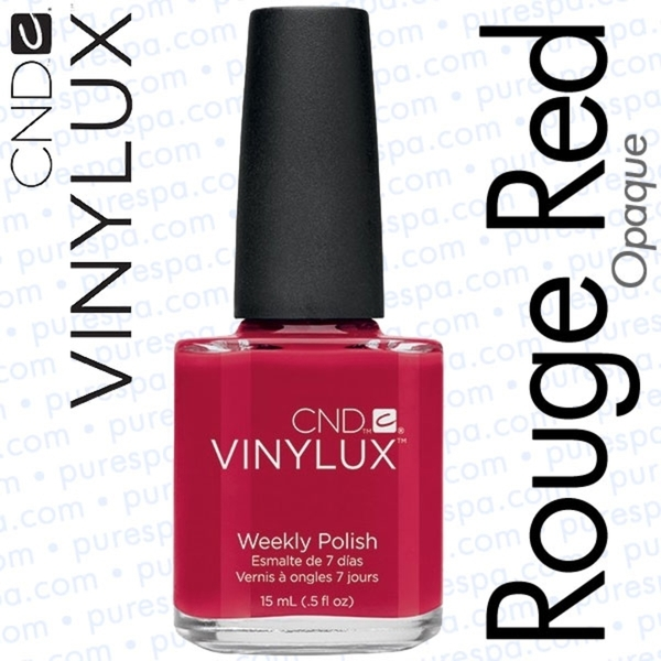 CND VINYLUX Rouge Red 0.5 oz. (800380)