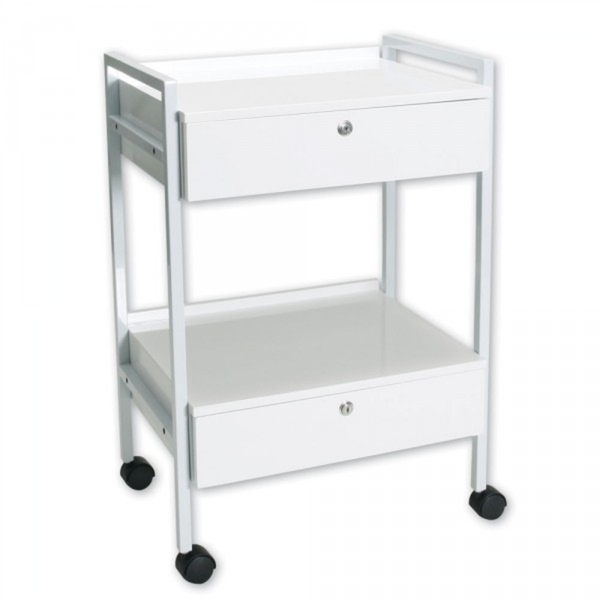 Beauty Trolley With Locking Drawers (EF710)