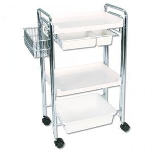 Facial Trolley With Basket (EK110)