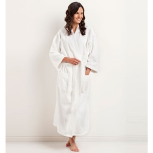 Kimono Velour Bathrobe by The Turkish Towel Company ()