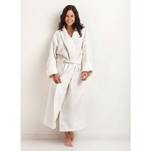 Shawl Collar WaffleTerry Bathrobe by The Turkish Towel Company ()