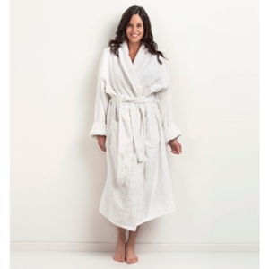 Shawl Collar Velour Bathrobe by The Turkish Towel Company ()