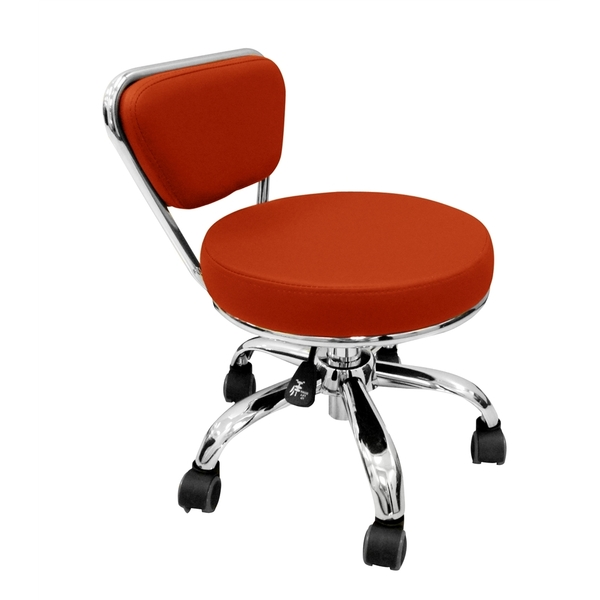 Merel Pedicure Stool Red (LS103-11-RD)