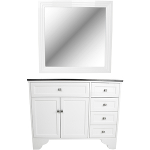 Emilia Traditional Vanity Styling Station with Mirror (KLI-SYSTL-4601)