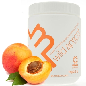 Wild Apricot & Chamomile Strip Wax - Strip Wax - Super Nourishing & Soothing Formula 1 kg. 2.2 lbs. (DSWACK)