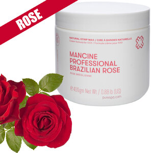 Brazilian Rose Strip Wax - Strip Wax - Cream Formula Developed for XXX 14 oz. (0)