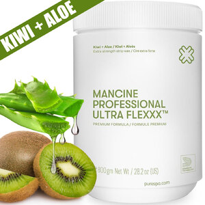 Ultra Flexxx™ Kiwi & Aloe - Strip Wax - Premium Extra Strength Formula 1 kg. 2.2 lbs. (0)