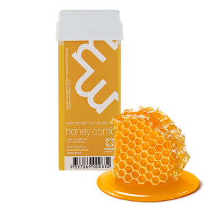 Honey Comb with Chamomile Extract - Extra Strength Formula Strip Wax Roll On Cartridge 3.38oz. - 100mL. (HONEY-ROLL-ON)