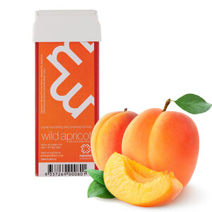 Wild Apricot with Chamomile Extract - Super Nourishing and Soothing Formula Strip Wax Roll On Cartridge 3.38oz. - 100mL. (APRICOT-ROLL-ON)