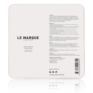 Le Marque Contour Hard Wax for Face & Brows 500 Grams - 1.1 Lbs. ()