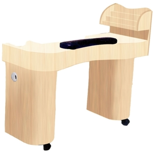 The Christine Wood Finish Nail Table (D-103)