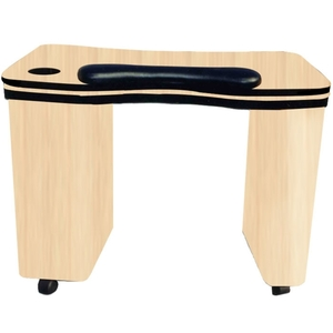 The Olivia Wood Finish Nail Table (D-205)
