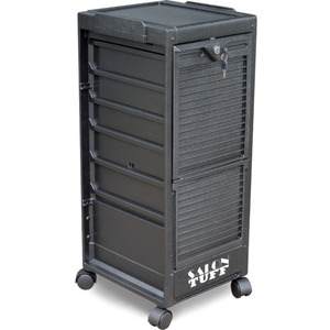 Econo Cart Lockable Cart 4 Trays by SalonTuff (EC-L)