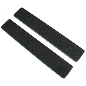 "Standard Black Cushion Nail Files - 8080 - Blue Center - 1-18"" Wide Washable Jumbo 1400 Mega Case (10069-cs)"