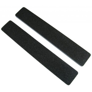 "Premium Black Cushion Nail Files - 8080 - Blue Center - 1-18"" Wide Washable Jumbo 1400 Mega Case (10068-cs)"