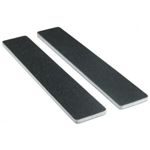 "Premium Black Cushion Nail Files - 100180 1-18"" Wide Washable Jumbo 1400 Mega Case (10147-cs)"