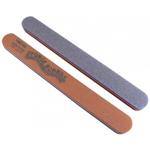 Disinfectable PurpleOrange Sponge Board Nail Files - 100180 CoarseMedium 1100 Mega Case (10029-cs)